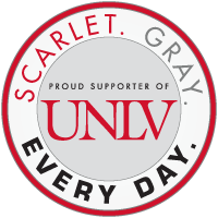 Proud Support of UNLV: Scarlet. Gray. Everyday.