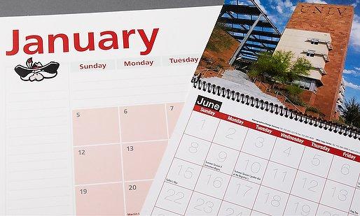 UNLV calendars