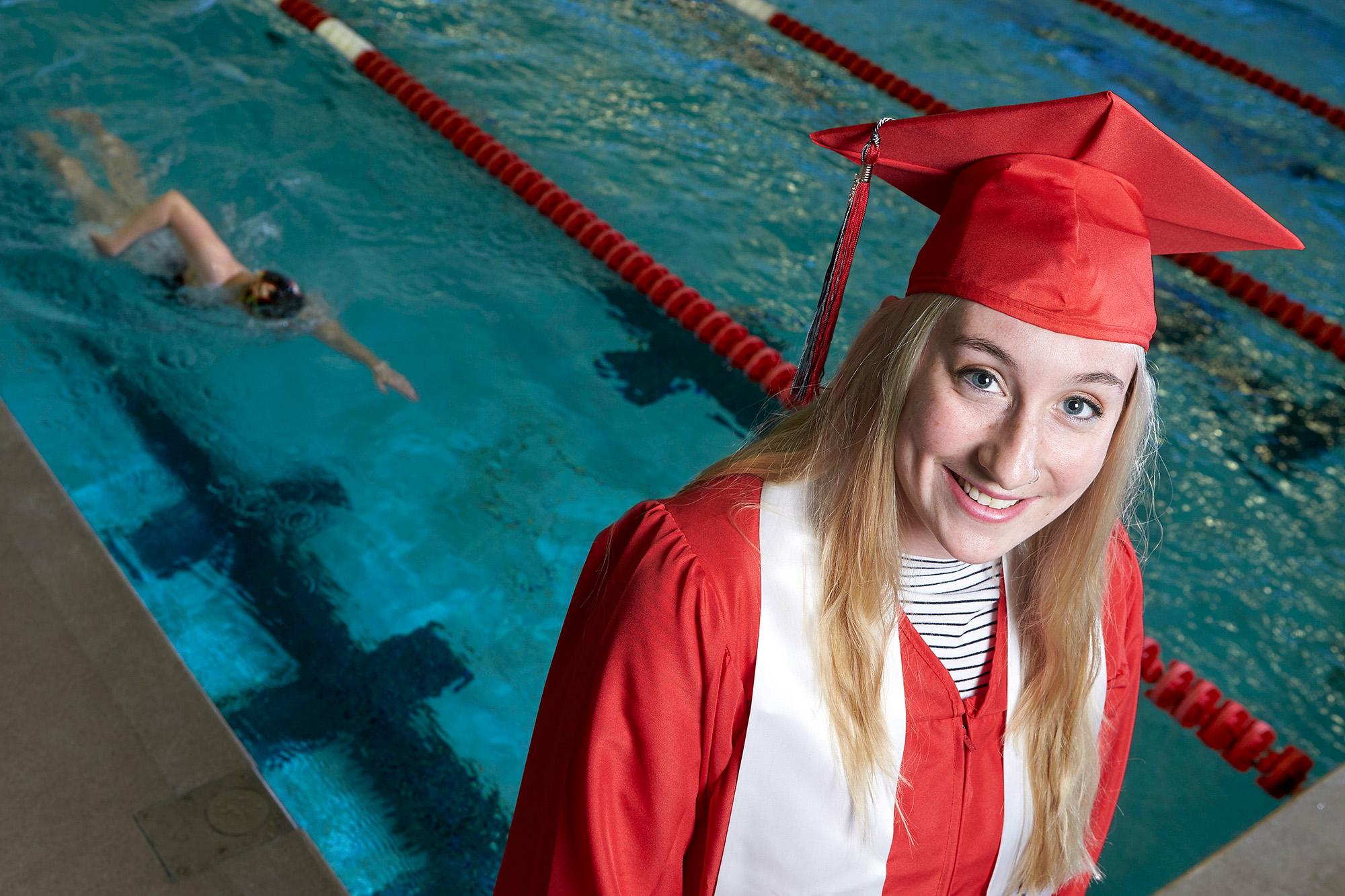 Swim Captain Set to Make a Splash at Commencement | News Center ...