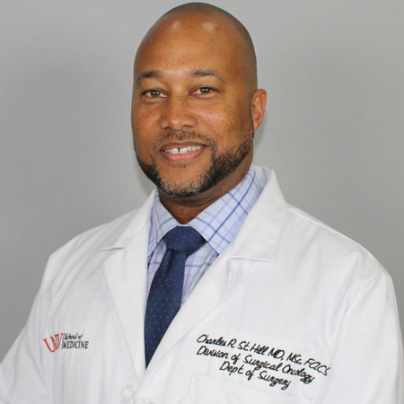 Headshot of Charles St. Hill, M.D., MSc, FACS