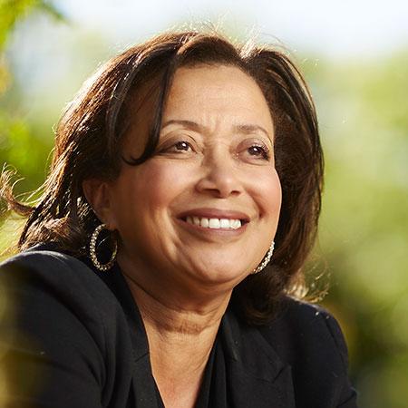 Headshot of Angela Amar, Ph.D., RN, FAAN