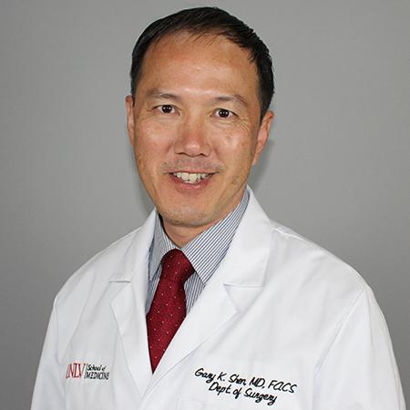 Headshot of Gary Shen, M.D., FACS