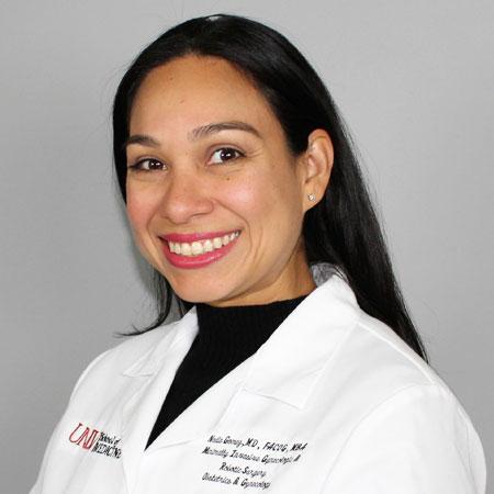 Headshot of Nadia Gomez, M.D., M.B.A.