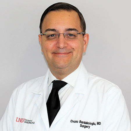 Ovunc Bardakcioglu, M D , FACS, FASCRS | People | University of