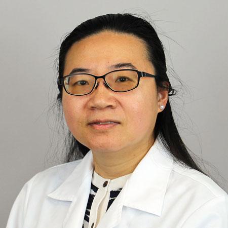 Headshot of Shirong (Sara) Chang, M.D.