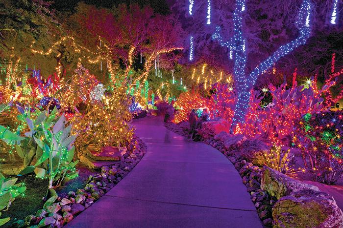 Ethel M Cactus Garden Christmas 2020 Holiday Cactus Garden Walk | Calendar | University of Nevada, Las