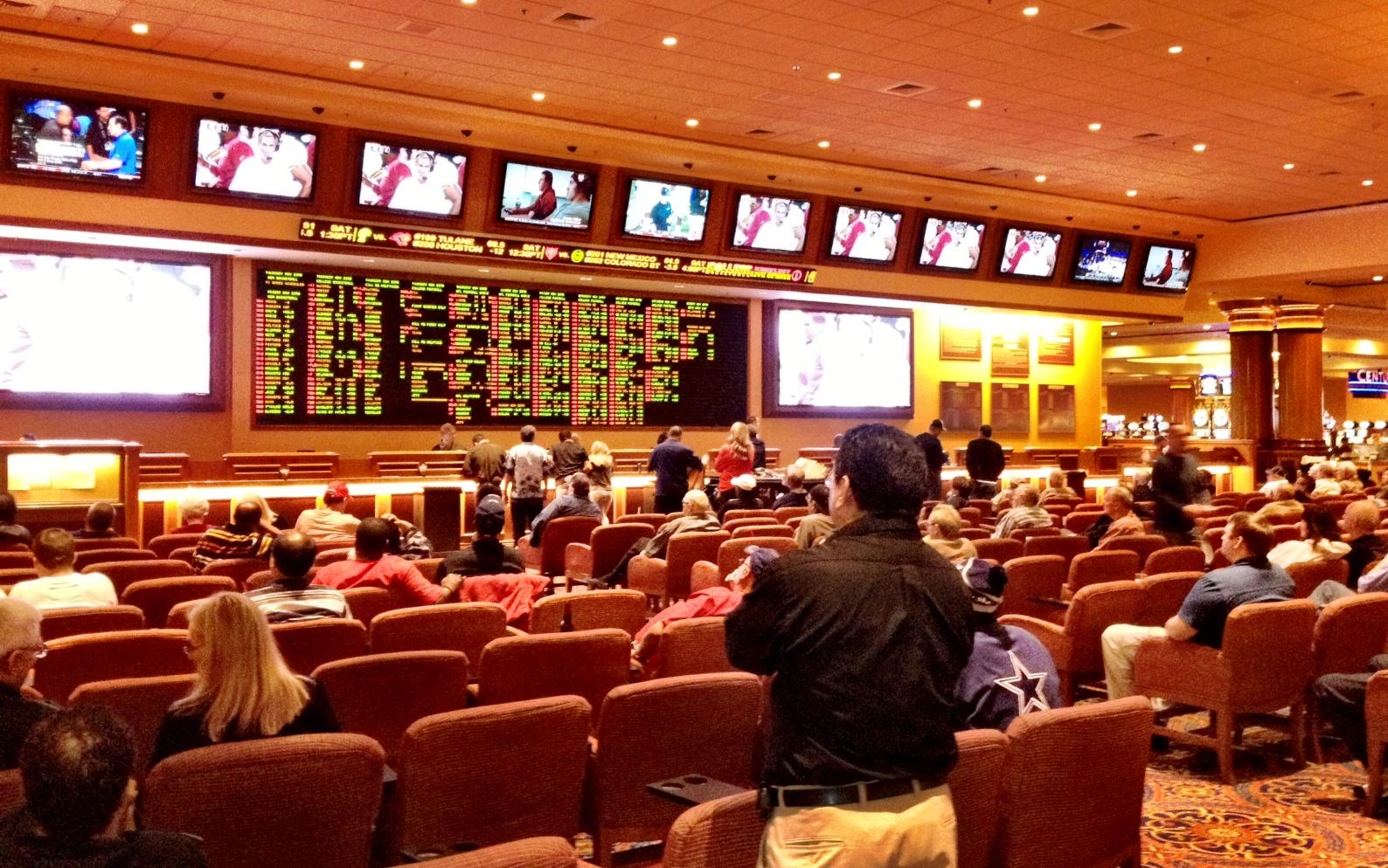 unlv sports betting handle