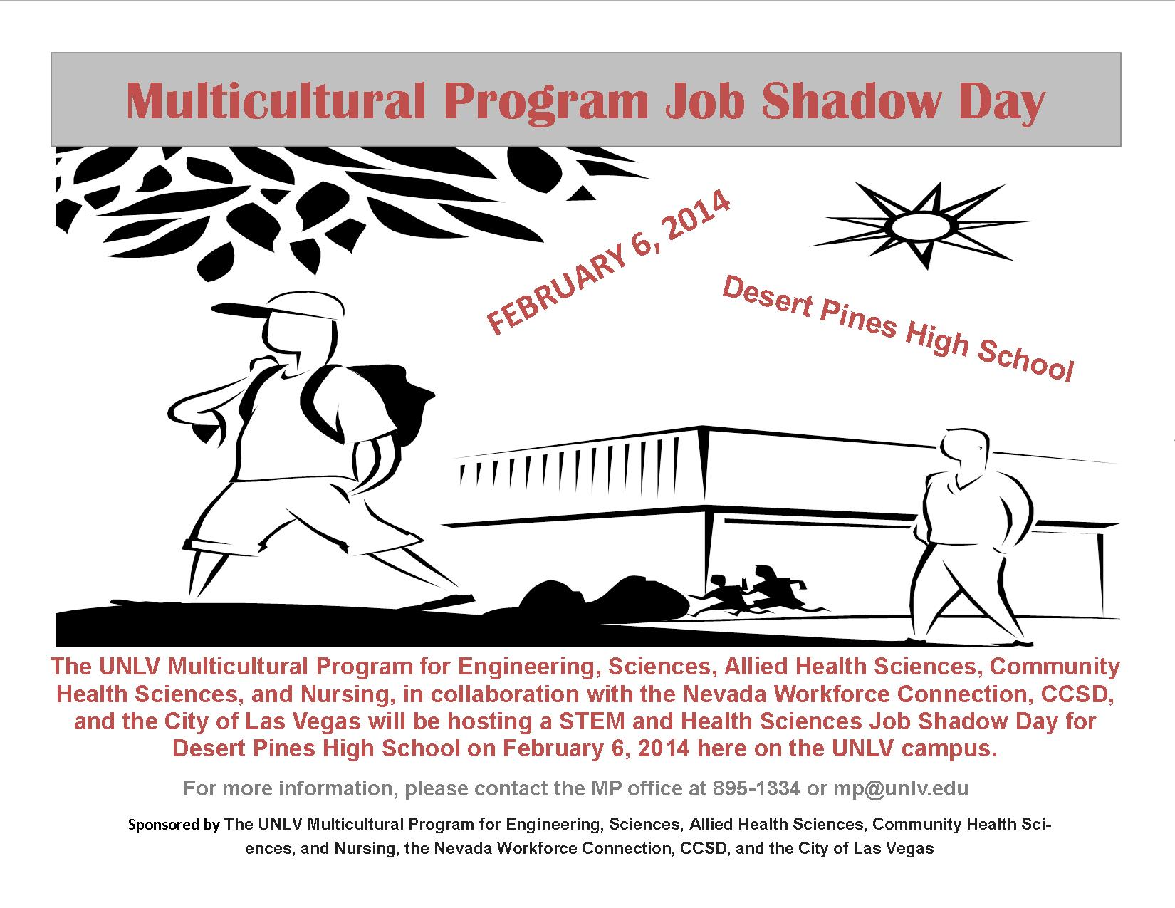 Multicultural Program Job Shadow Day