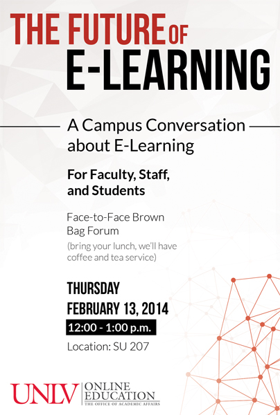 The Future of E-Learning: A Campus Conversation