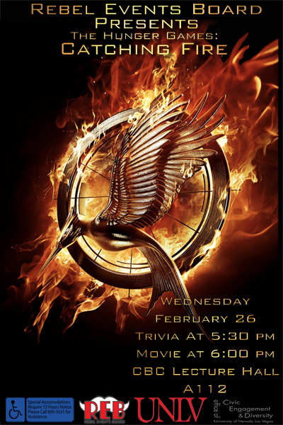 Hunger Games: Catching Fire Movie Night