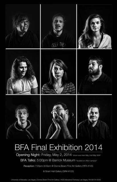 BFA Final Exhibition 2014