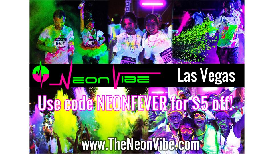 The Neon Vibe 5K Color Run June 14th