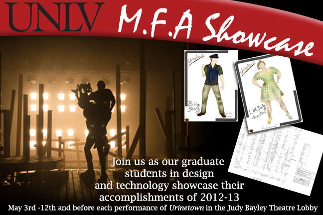 MFA Graduate Theatre Design and Technology Showcase