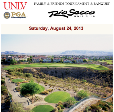 2013 UNLV PGA Golf Management Family&Friends Tournament