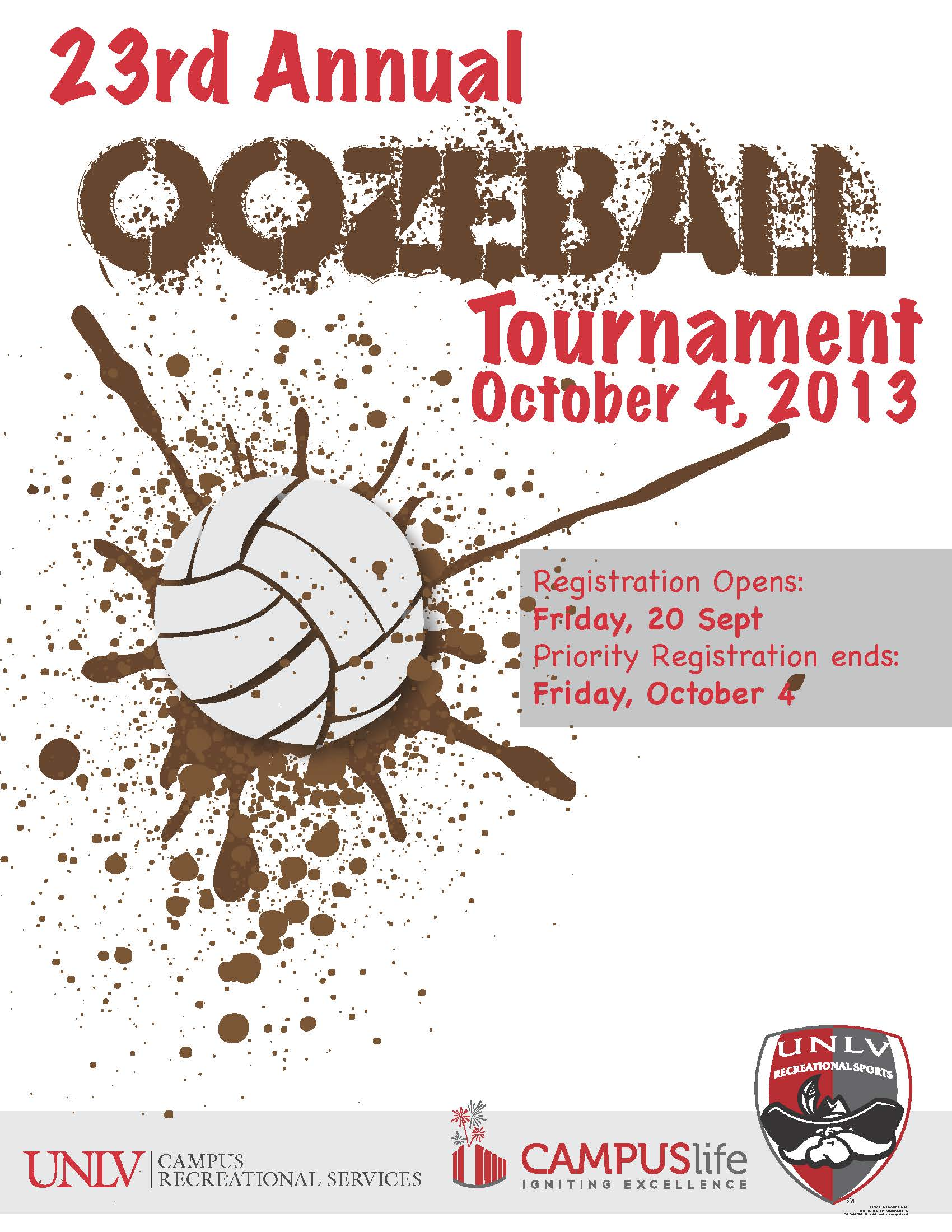 23rd Annual Oozeball Tournament