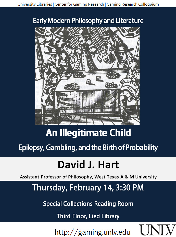 Talk on Gaming, Epilepsy, & Probability at Lied Library