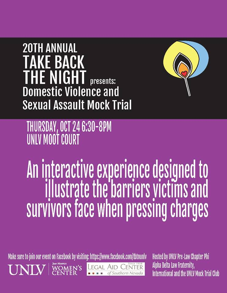Domestic Violence and Sexual Assault Mock Trial [TBTN]