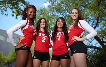 womens volleyball  san diego state university  nevada las vegas