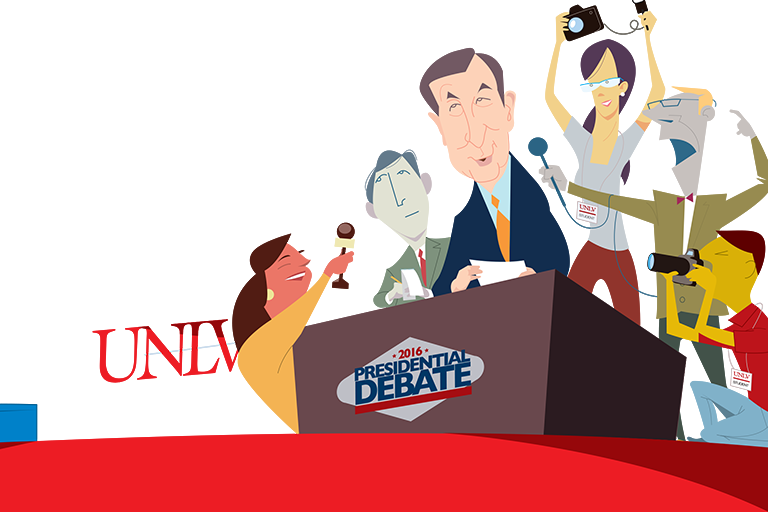 The Debate, Vegas Style