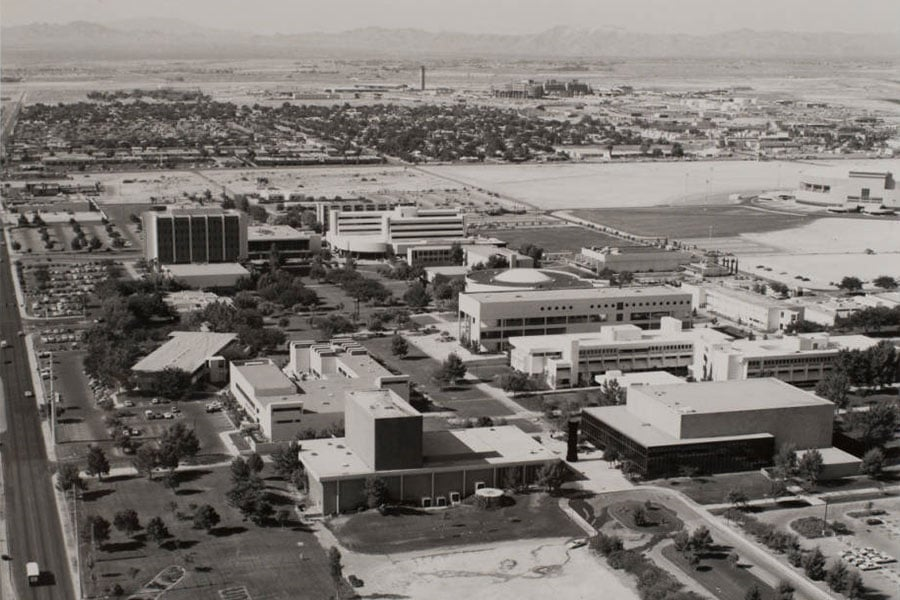 UNLV Campus circa 1994