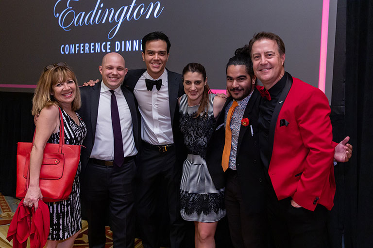 Group of people at the Eadington Dinner