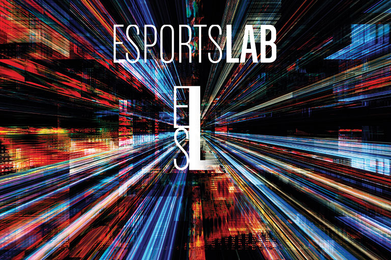 "alt=""Esports Lab graphic."""