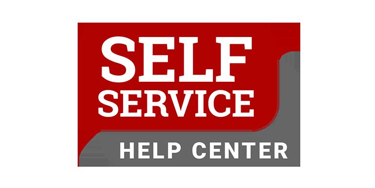 Self Service Help Center Logo