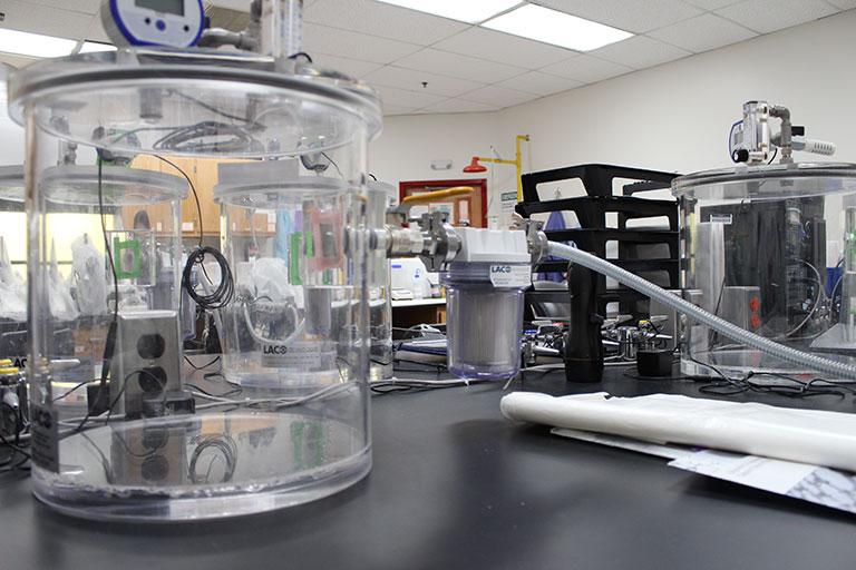 Various of laboratory equipment.