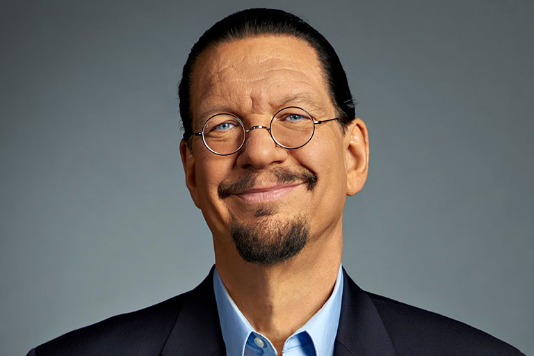 Penn Jillette's headshot