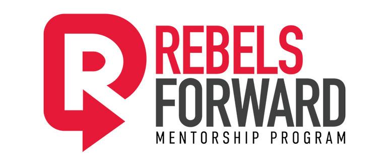 Rebels Forward Mentorship Program Logo