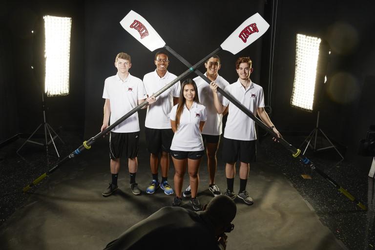 UNLV Rowing team