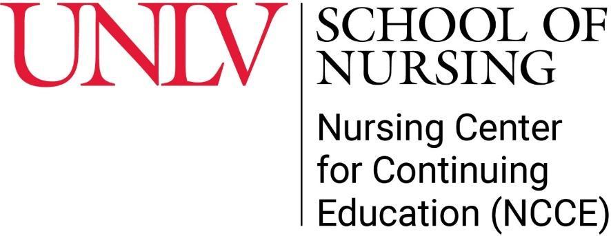 UNLV School of Nursing - Nursing Center for Continuing Education (NCCE)