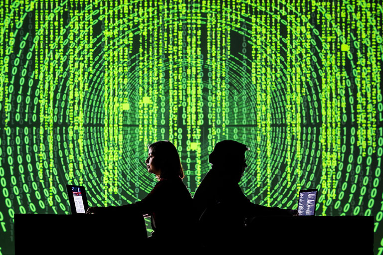 People coding