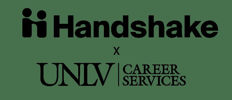 Handshake and U-N-L-V Career Services logo