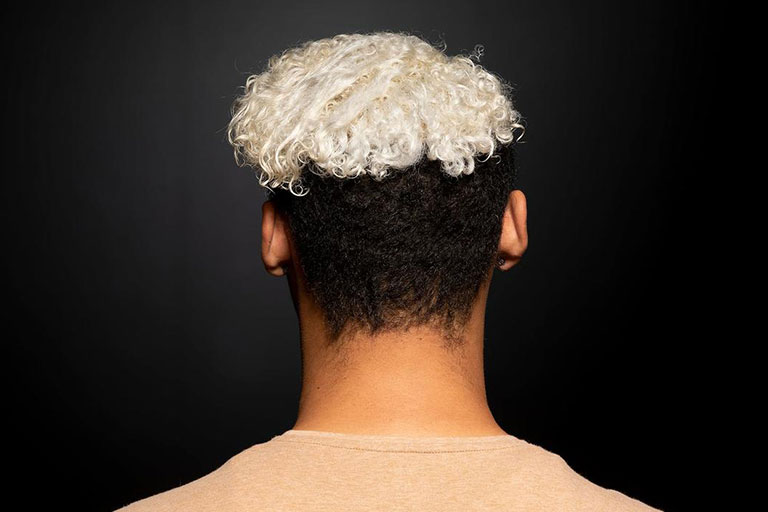 Back of a person's head