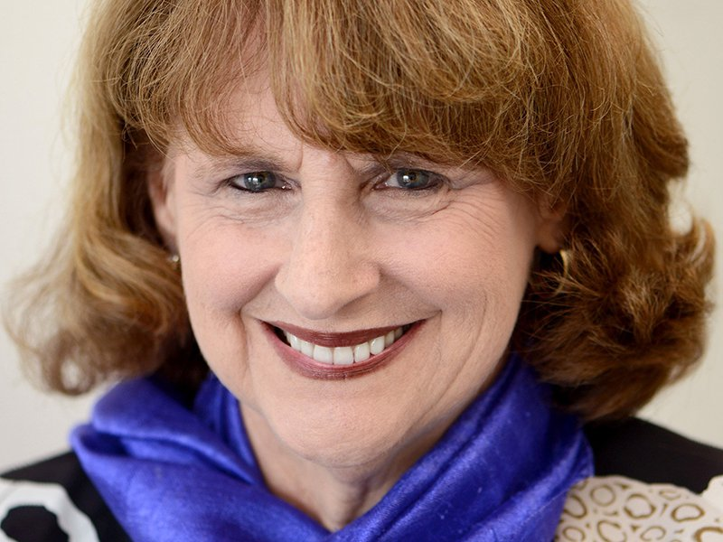 Portrait of a smiling Dean Nancy Uscher