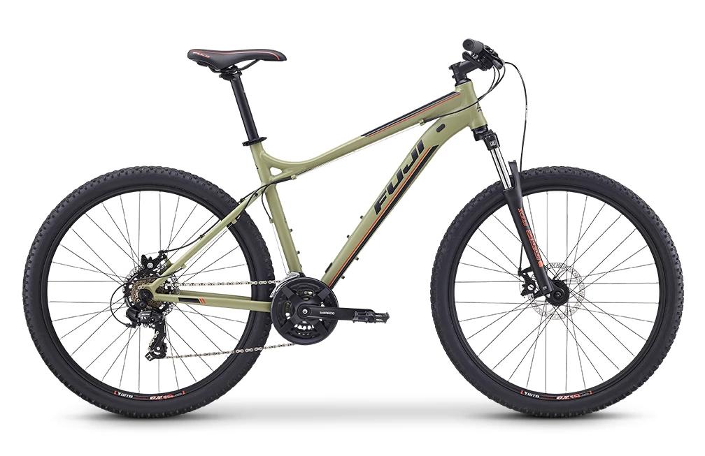 A mountain bike