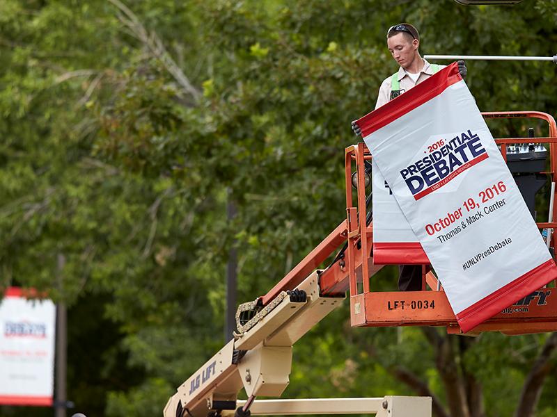 Installing debate banner