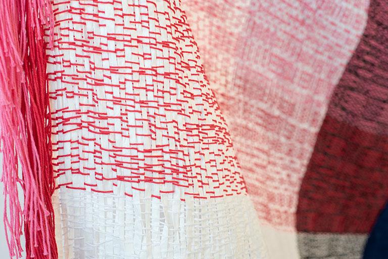 Salmon fabric