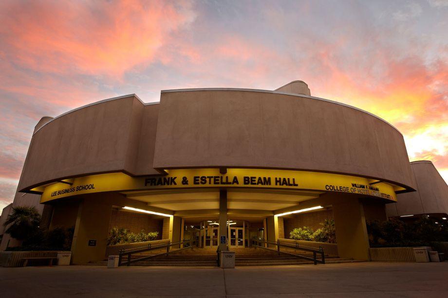 Phofo of Frank Estella and Beam Hall