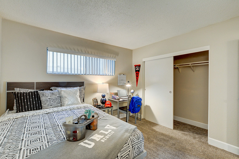 Interior of an apartment at Legacy L-V