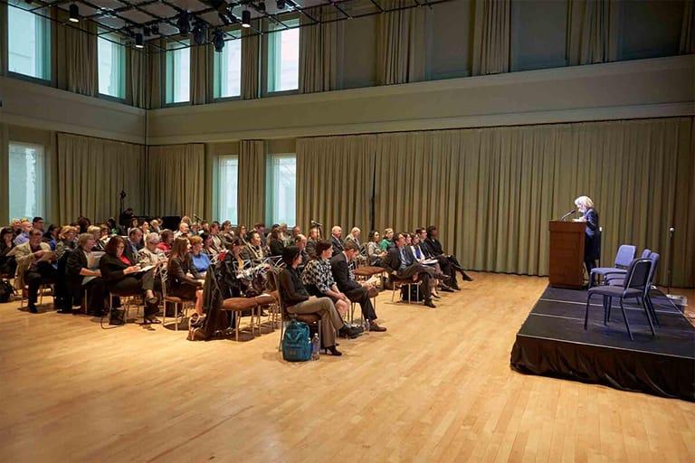 Large group seminar