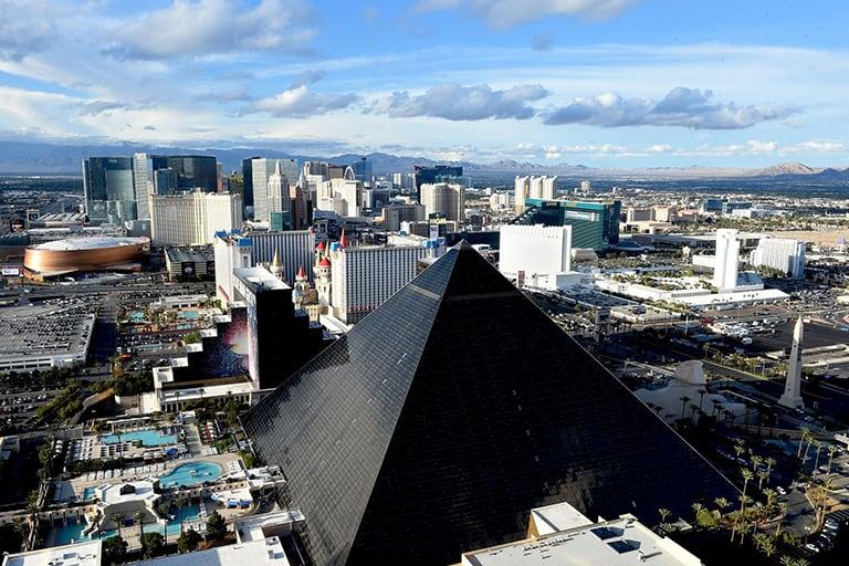 Las Vegas strip and casinos