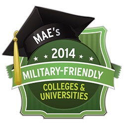Mae's 2014 Military-Friendly Colleges & Universities Award
