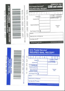Insured Mail