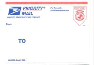 Priority Mail Envelope