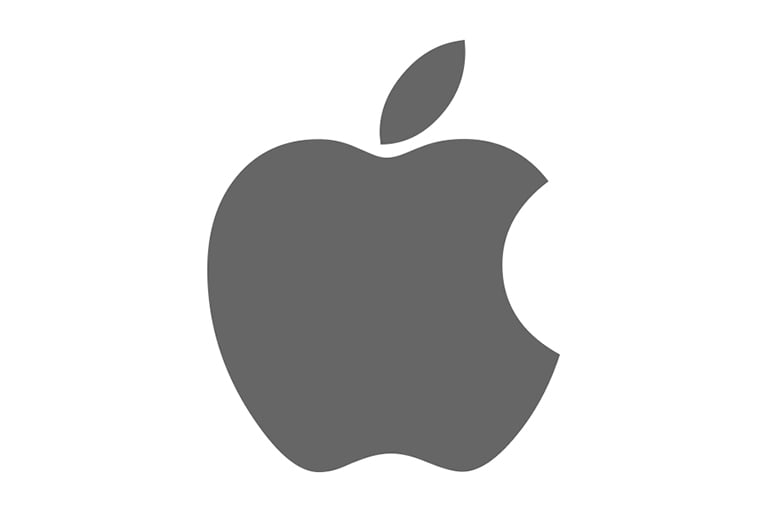 Logo of Apple.