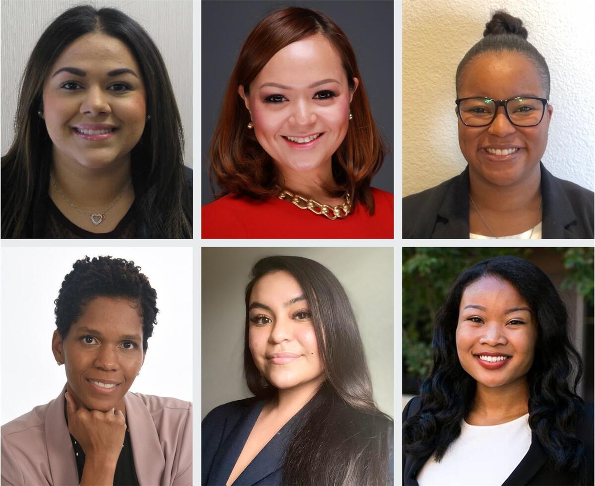 Portraits of six different College Opportunity Program graduates.