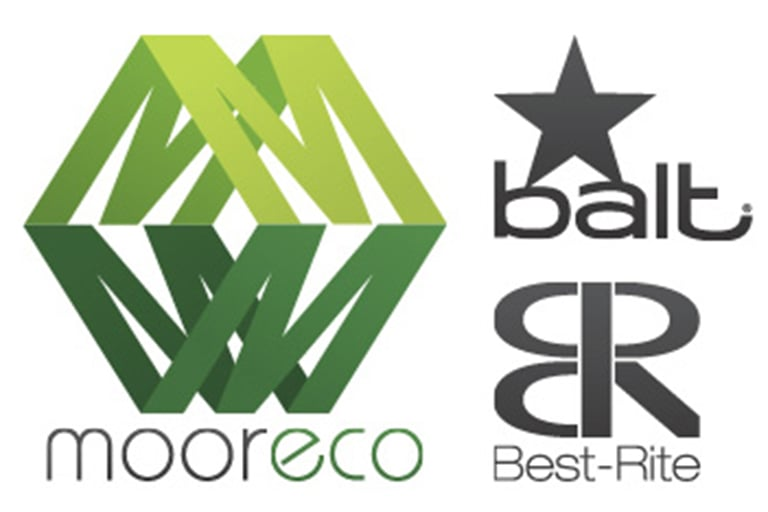 Logo of Mooreco, Balt Furniture and Best-Rite.