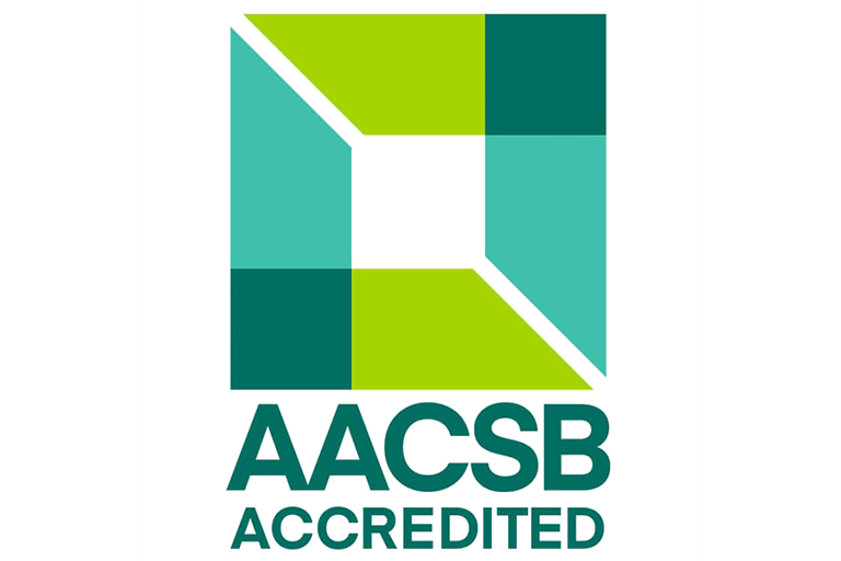 AACSB Accredited Blue Web logo